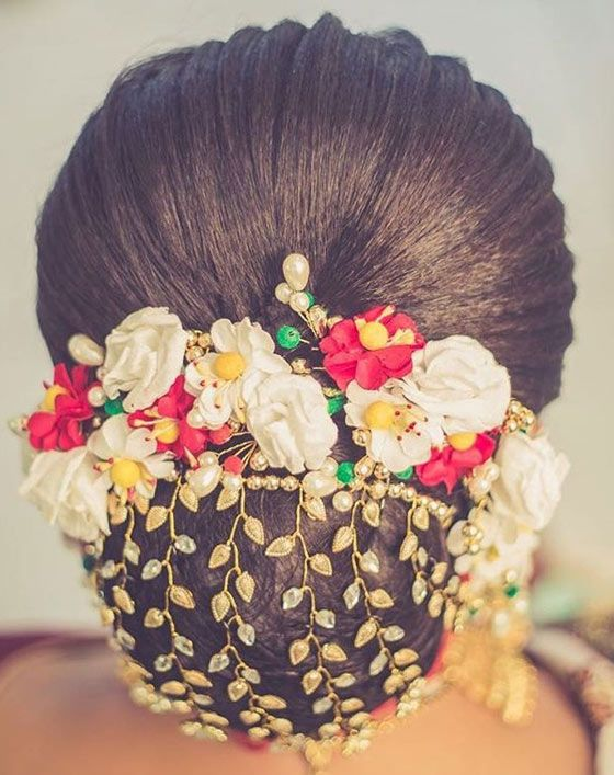 40 Indian Bridal Hairstyles Perfect For Your Wedding With Images