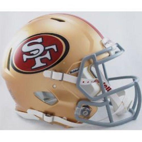 San Francisco 49ers Authentic Speed Riddell Full Size Helmet