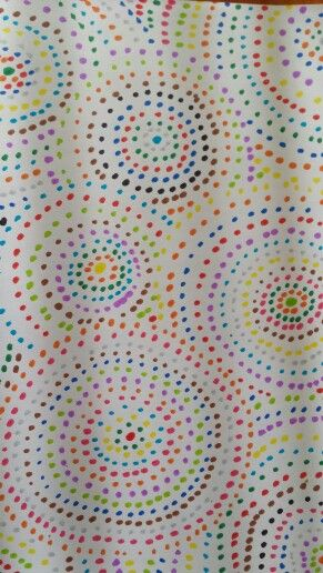 Dots in Round Robin Notebook