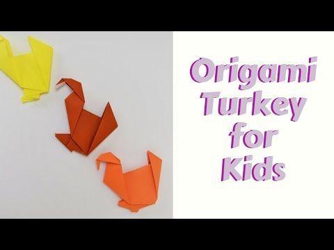 Origami Turkey Photo Tutorial - Paper Kawaii | 360x480