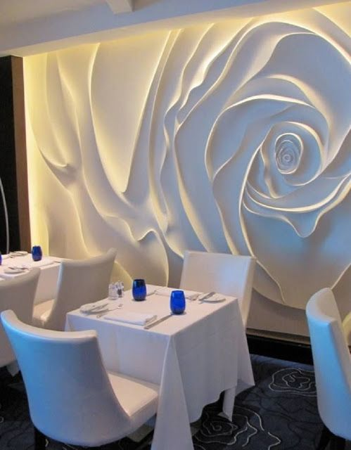 Wall Art: Decorative 3D Wall Panels For Restaurants