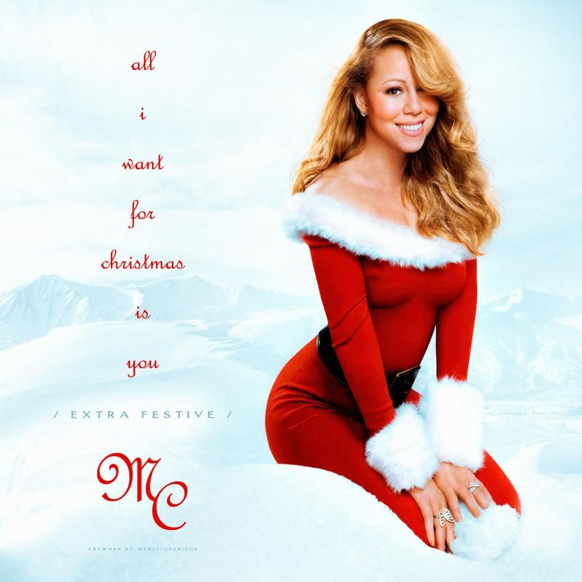 Mariah Carey All I Want For Christmas Is You Made By Merlito Coverlandia