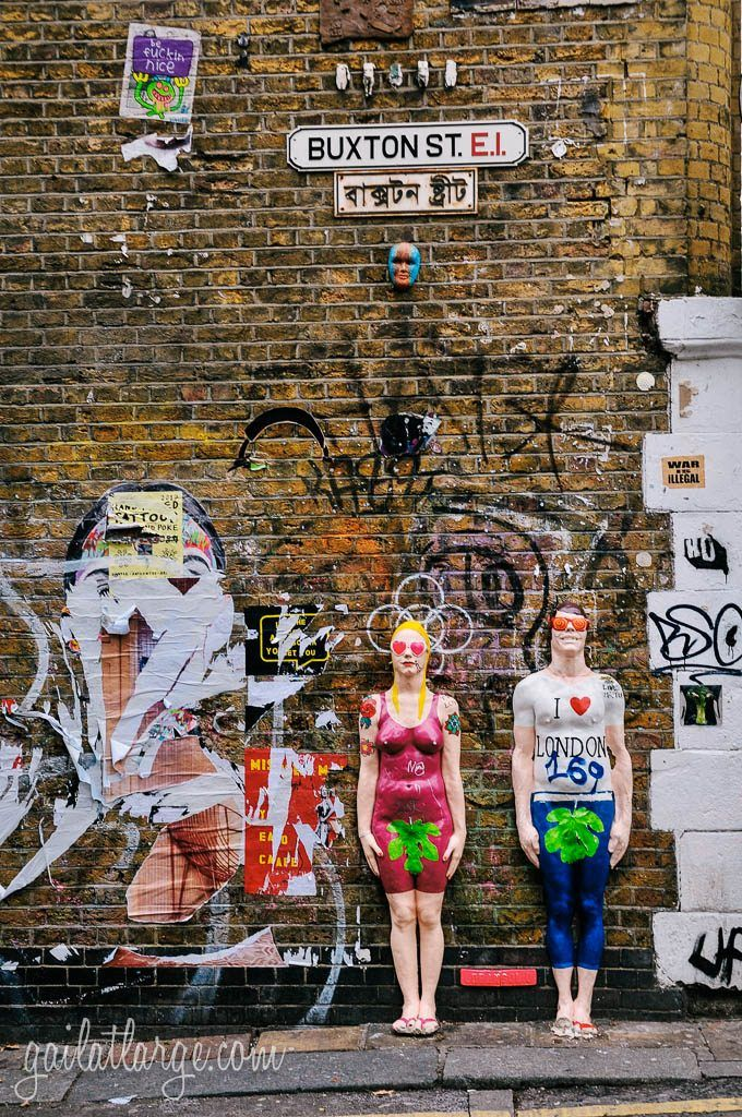 Shoreditch Graffiti: Street Art In Shoreditch, London