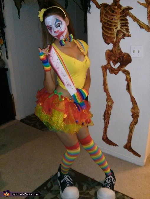Killer Clown Halloween Costumes For Girls.Killer Clown Halloween Costume Contest At Costume Works Com