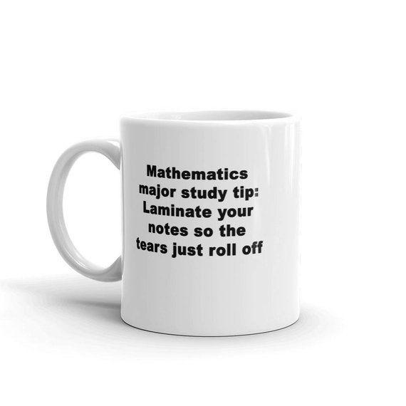 Math Major Gift Mathematics Gift Math Student Mug Math Degree