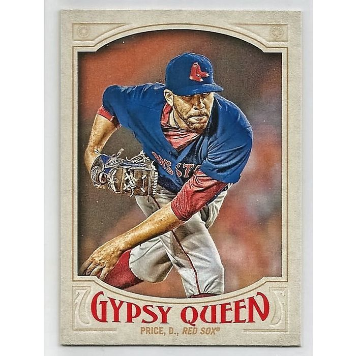 2016 Topps Gypsy Queen #28 David Price Listing in the Non-Graded ...
