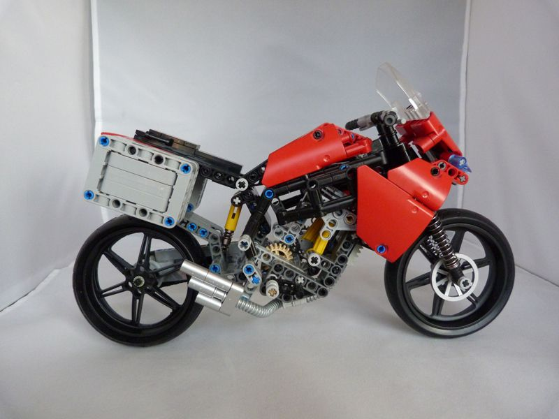 other motorcycles moc nemooz lego technic. Black Bedroom Furniture Sets. Home Design Ideas