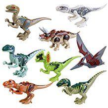 pixnor jurassic park dinosaure jouet jurassic world dinosaure btiment bloque jouet 8p