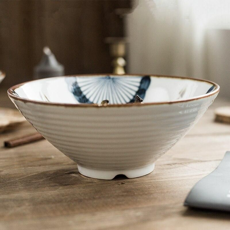 The Revere Hand Painted Bowl - Ecletticos Kitchen