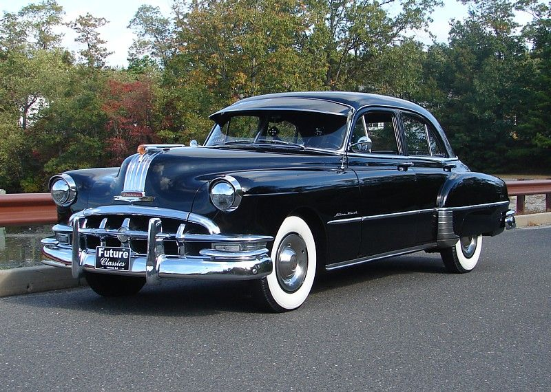 1950 pontiac silver streak 4 door sedan my first ride