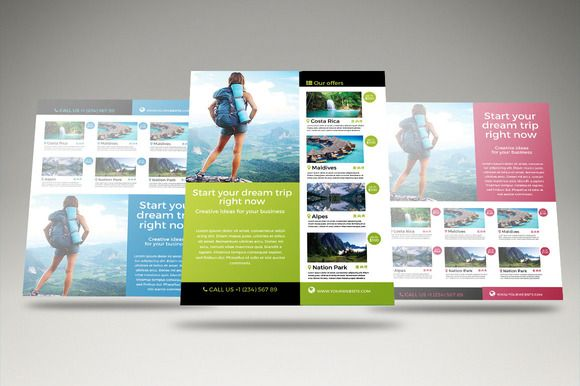 Travel - Vacation Flyer Template Pinterest Flyer template and