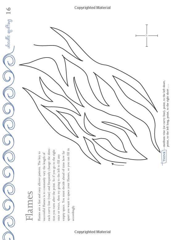 Doodle Quilting: Over 120 Continuous-Line Machine-Quilting