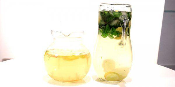 Cbc Sofra طريقة تحضير مشروب ليمون بالنعناع سالي فؤاد Recipe Milkshake Smoothies Shakes