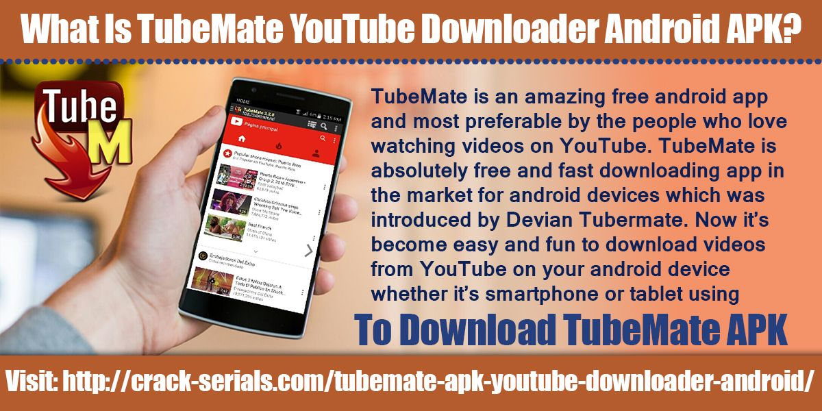 TubeMate is an amazing free android app and most preferable by the - free resume downloader