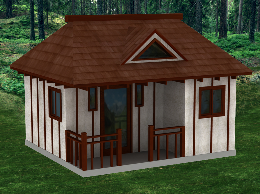 tiny houses kits small cabin design, porch tiny house design, good ...