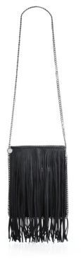 Stella McCartney Mini Baby Bella Fringed Faux-Suede Tote