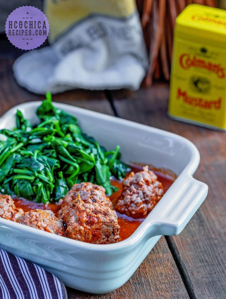 P2 Hcg Recipe Bbq Meatballs Garlic Spinach Sp Recipe