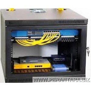 Wallmount Rack 19 12u Depth 500mm Dan 550mm Rack Para Computador Redes De Computadores Rack Informatica
