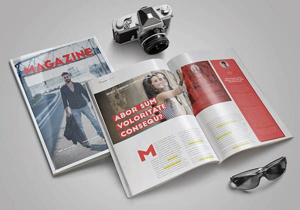 17 Free Magazine Indesign Template for Editorial Project | tablero 1 ...