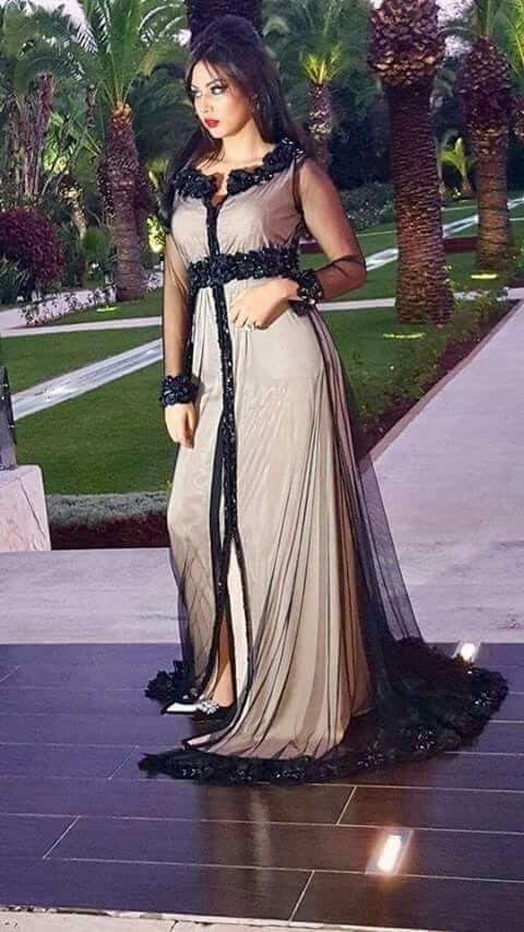 Caftane Moroccan Dress Traditional Dresses Caftan