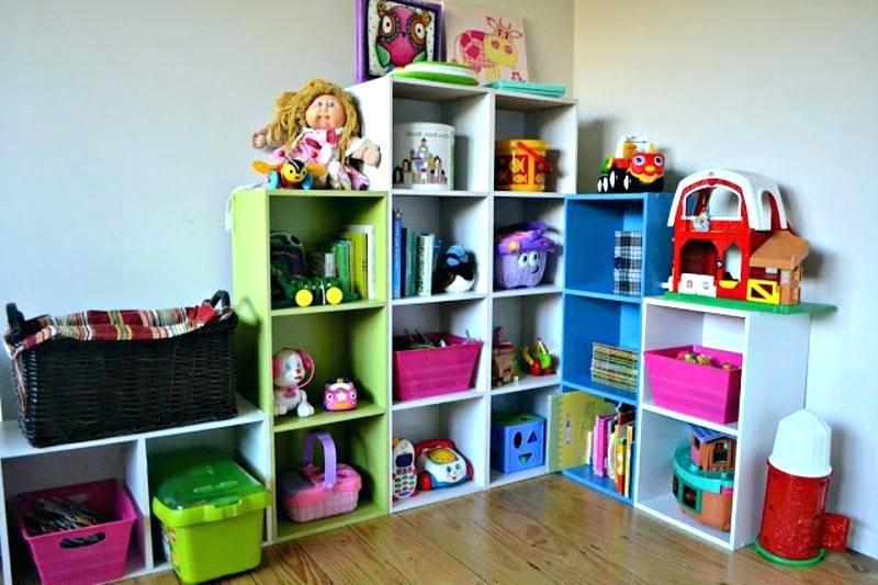 34 Brilliant Storage Ideas For Small Spaces Childrens Toy Storage Girl Toy Storage Kids Storage Bins