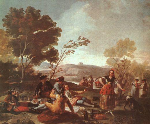 francisco de goya, picnic-on-the-banks-of-the-manzanares