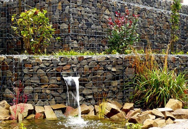 wasserfall im garten modern controng garten und bauen - Wasserfall Im Garten Modern