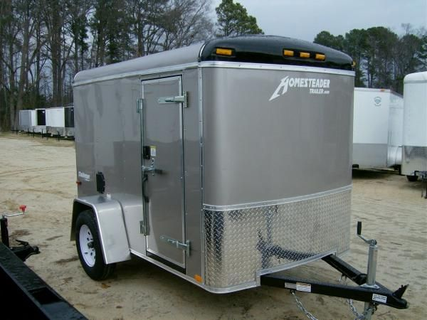 5x8 Cargo Trailer Camper Conversion 5x8 Enclosed Cargo Trailer A