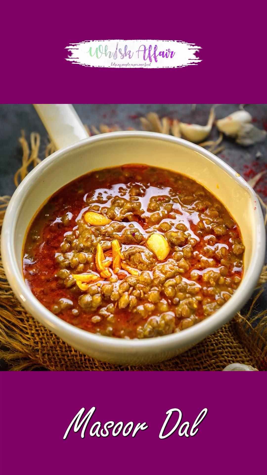 Whole Masoor Dal is a delicious Indian red lentil recipe that is easy to cook, healthy, and tastes fabulous. This lentil soup is a great source of vegetarian protein. Here is how to make it.