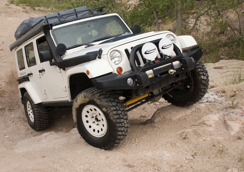 Jeep Wrangler Rubicon Overland Parts List Expedition Portal
