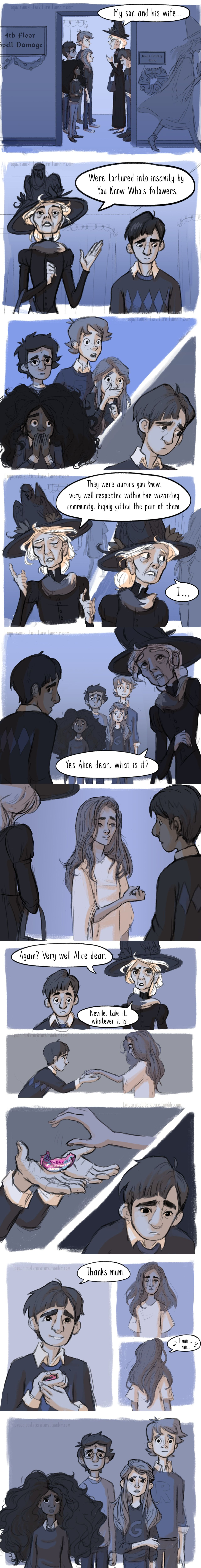 Harry Potter Book 5 Scene