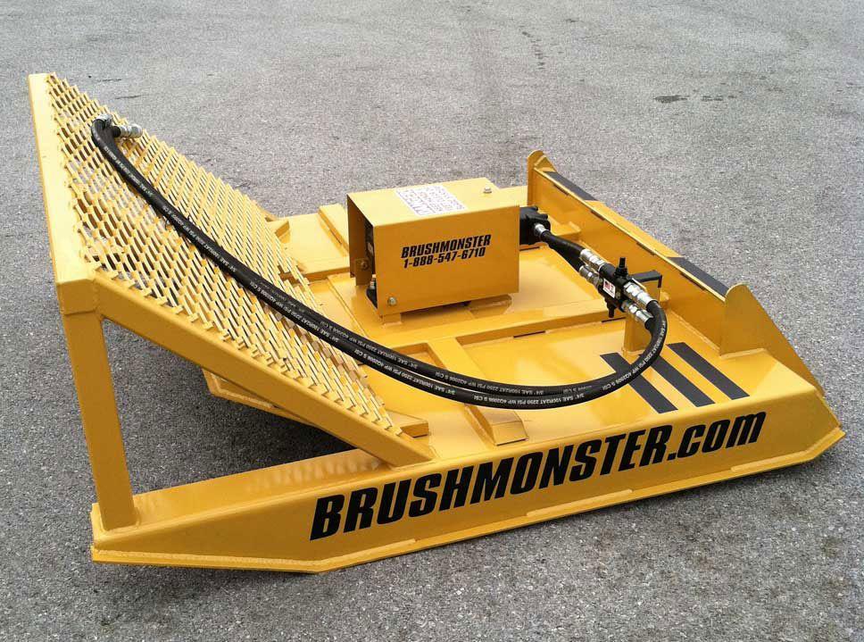 Skid Steer Attachments Brush Mower For Skid Steer