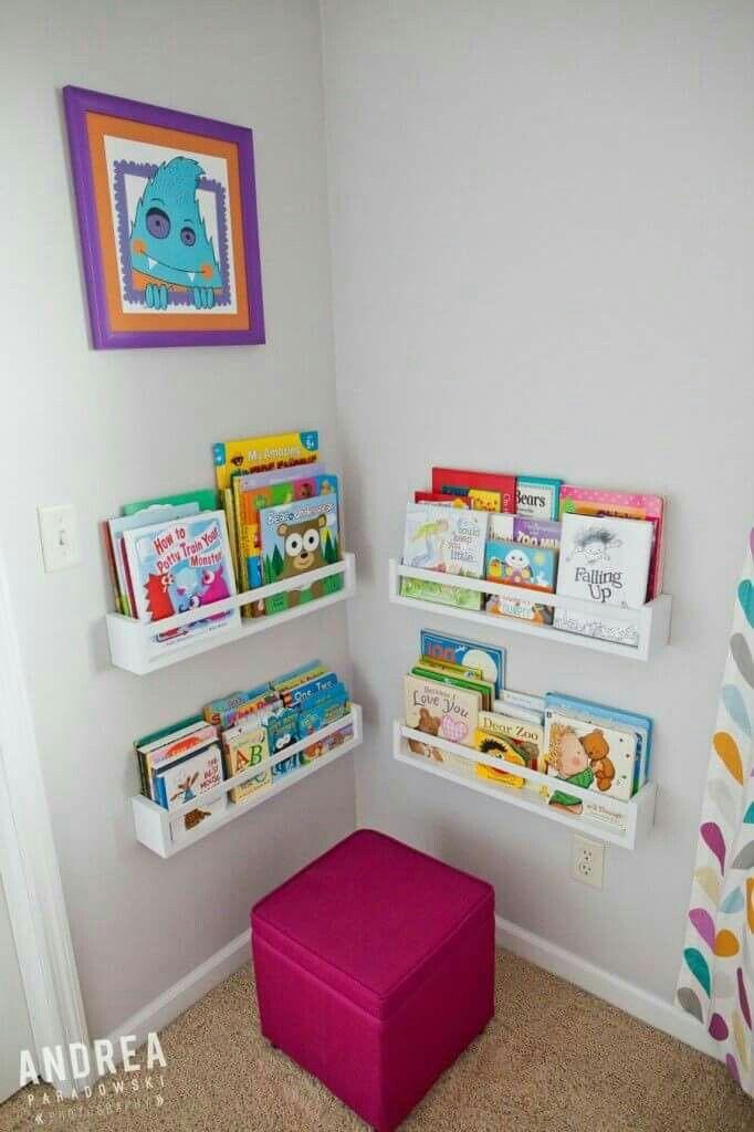 Pin By Ruhe Ruhe On Boys Bedroom Monster Nursery Nursery Window Seat Nursery Book Storage
