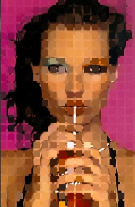 """SARAH MORRIS """"KTMSS"""" (2000)  Maße: 33,47 x 23,5 cm Technik: Digitale Fotografie / Digital Print Auflage: 100 + 20 signiert und nummeriert"""