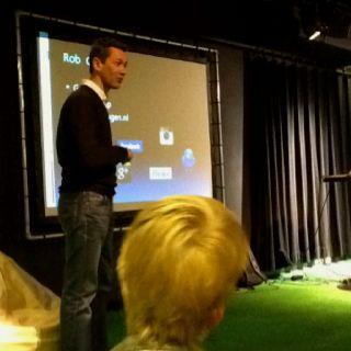 Rob Coers vertelt over nieuwe media-ontwikkelingen tijdens de Kenniscirkel Mediawijsheid #probiblio