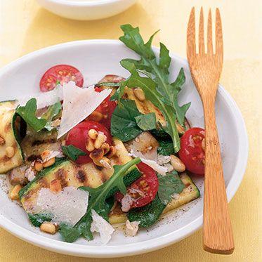 Salat aus Grillgemüse