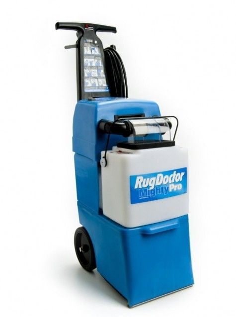 The Rug Doctor Mighty Pro Provides Professional Carpet Cleaning Results In A Home Use Machine