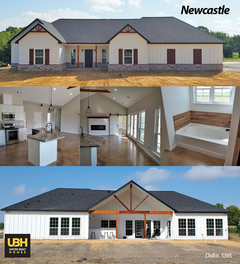 Check Out This Gorgeous Newcastle Just Completed Out Of Our Dallas Tx Location Are You Ready To Build Custom Home Builders Build Your Dream Home House Plans