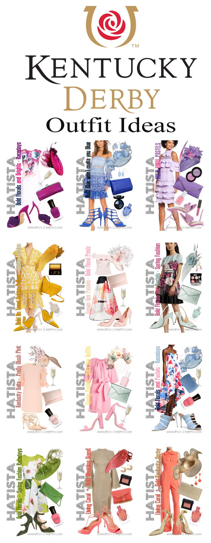 Kentucky Derby 2020 Fashion.Need Outfit Ideas For The Kentucky Derby We Ve Put Together