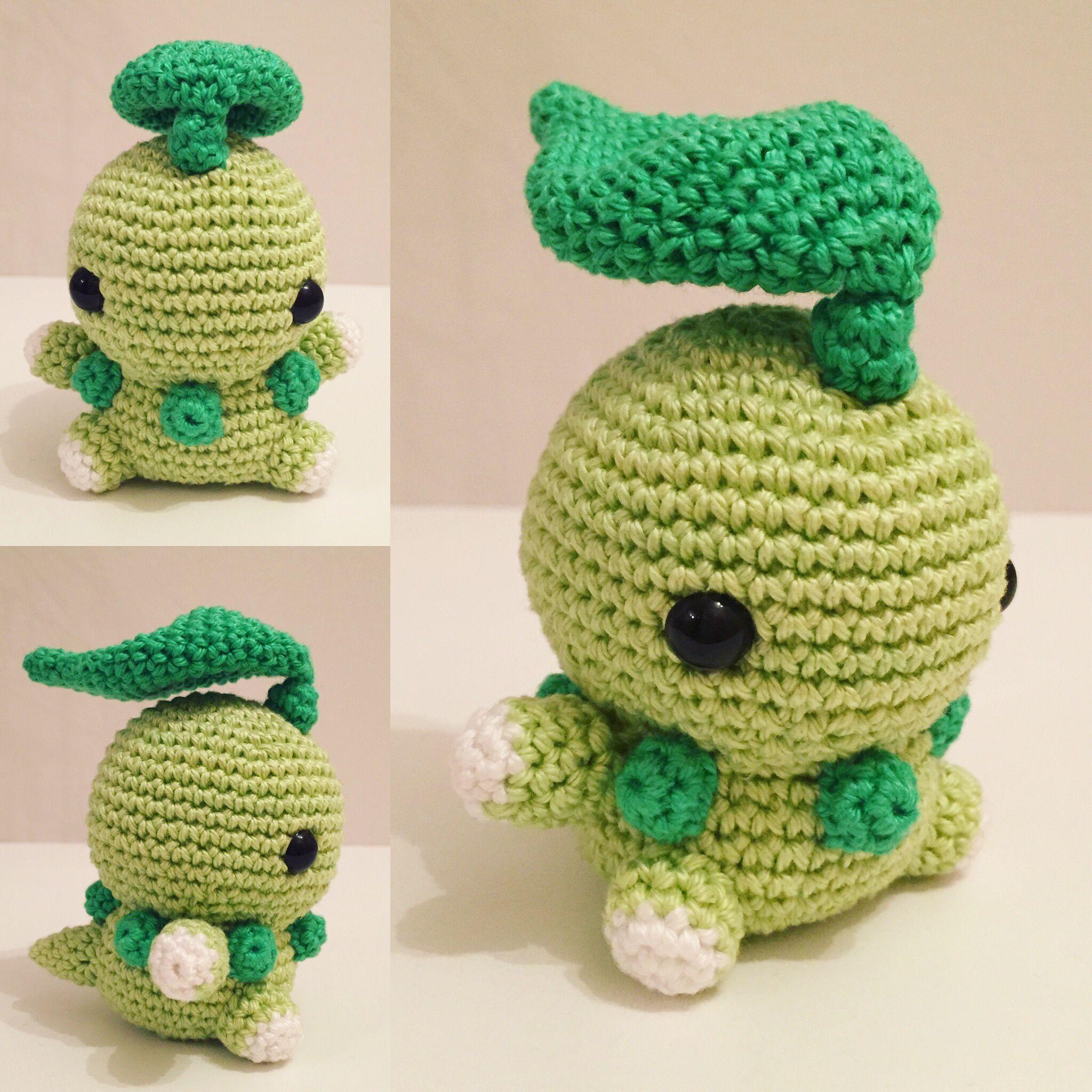 Endivie/Chikorita häkeln/crochet by cute_plushies_crochet | Crafts ...