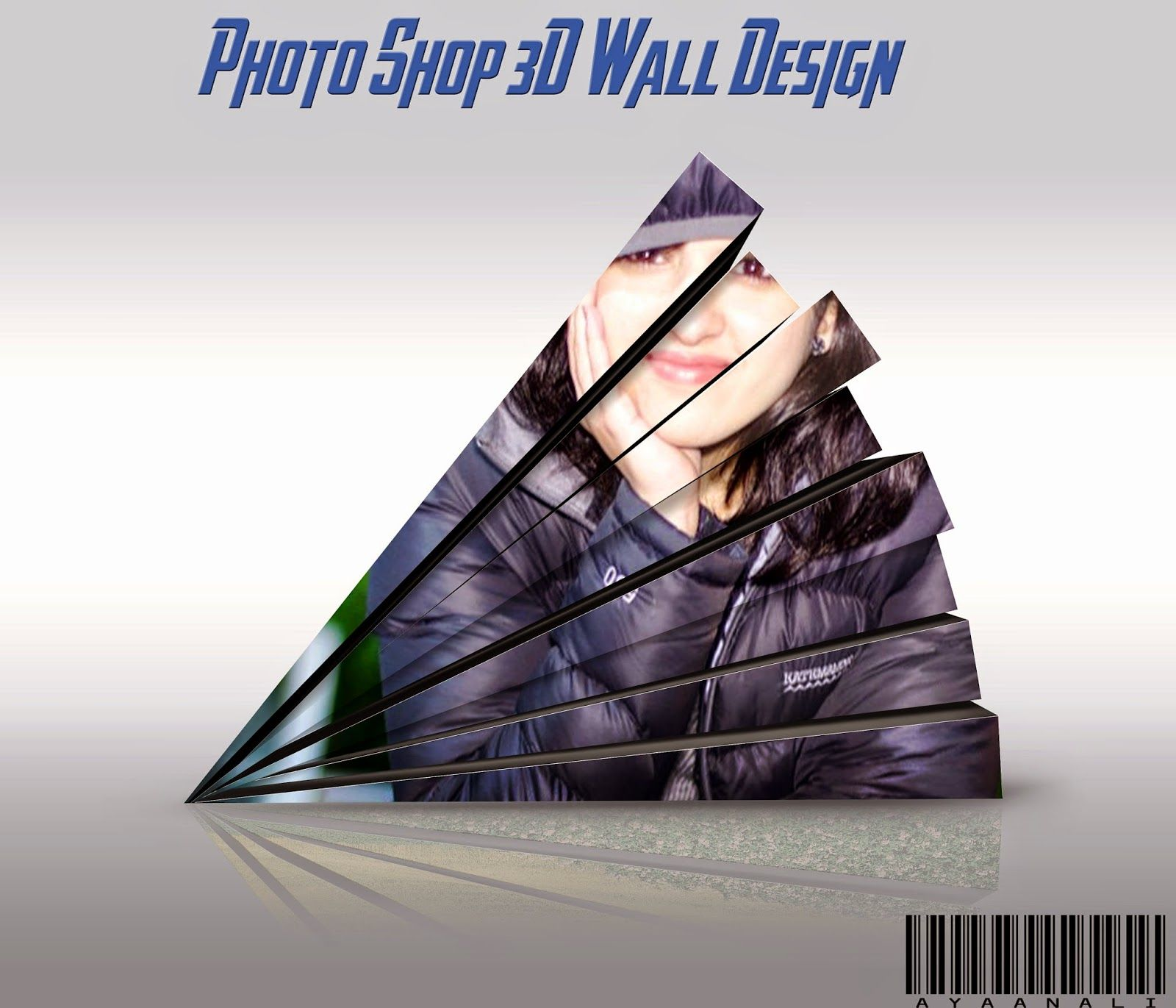 Photoshop 3d Wall Psd Project