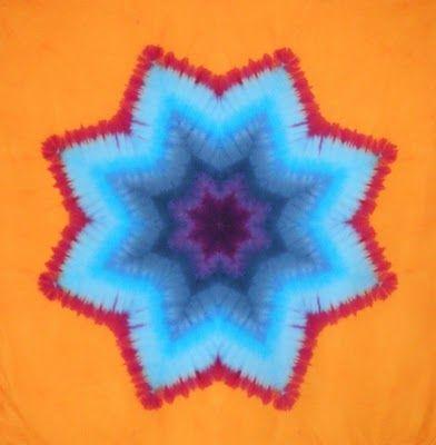 Desert Dyeworks: Star Mandala Tutorial Part 1- Folding