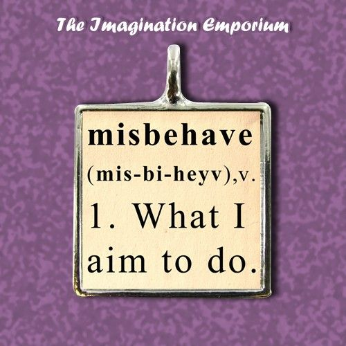 """I aim to misbehave."" Firefly, Serenity, pendant, necklace"