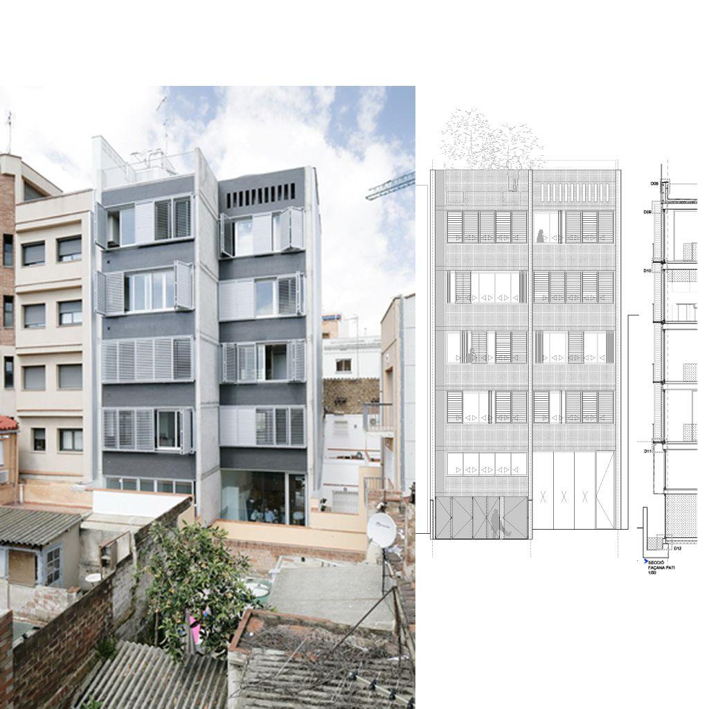 Lagula Arquitectos | Viviendas en el Barri des Pescadors | Badalona, España | 2011