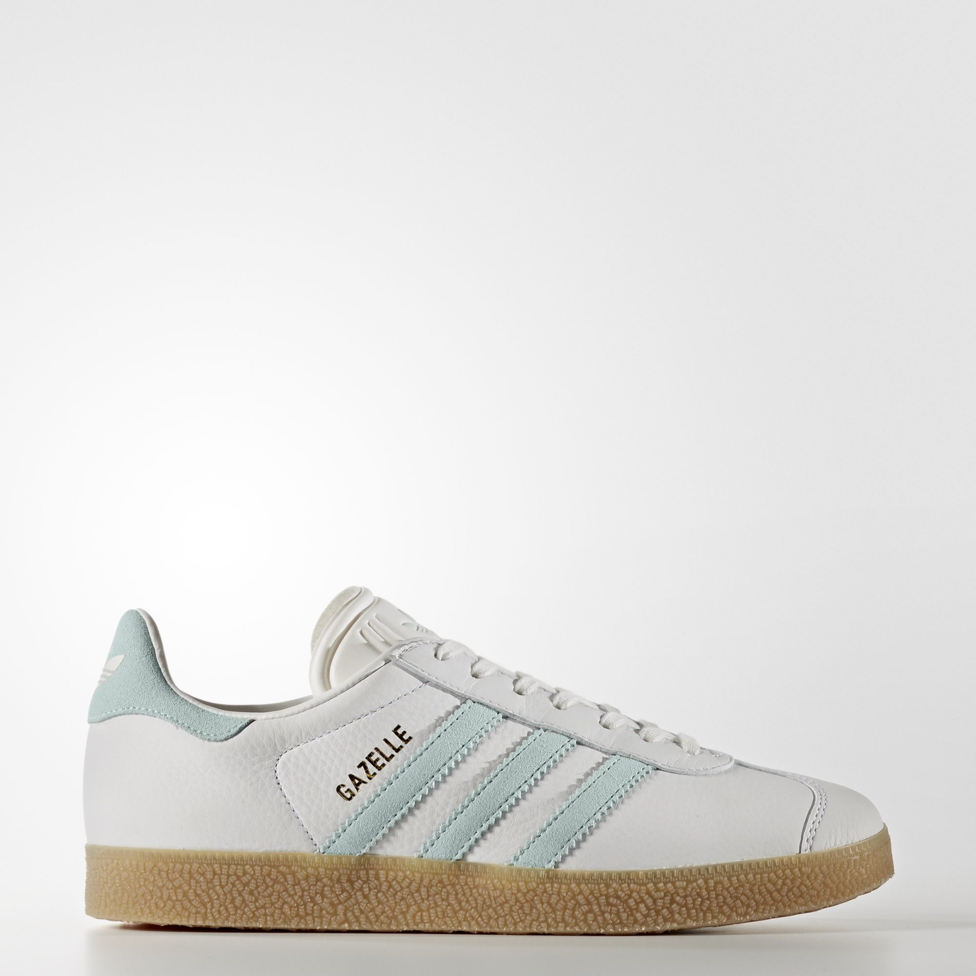Adidas Gazelle vintage white/ vapour green Taille 40 | Adidas ...