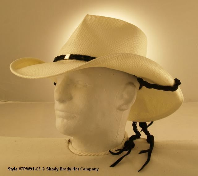 d635f8a81 Old Trading Post – Western Cowboy Straw Hat with Three Diamond Band ...
