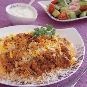 Kuwaiti Chicken Biryani | Indian food | Biryani recipe, Biryani