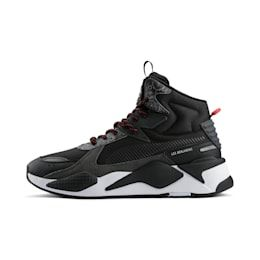 Chaussure Basket PUMA x LES BENJAMINS RS X Mid, Noir, Taille