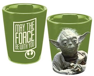 Star Wars Yoda May The Force Be With You Ceramic Shot Glass Shot