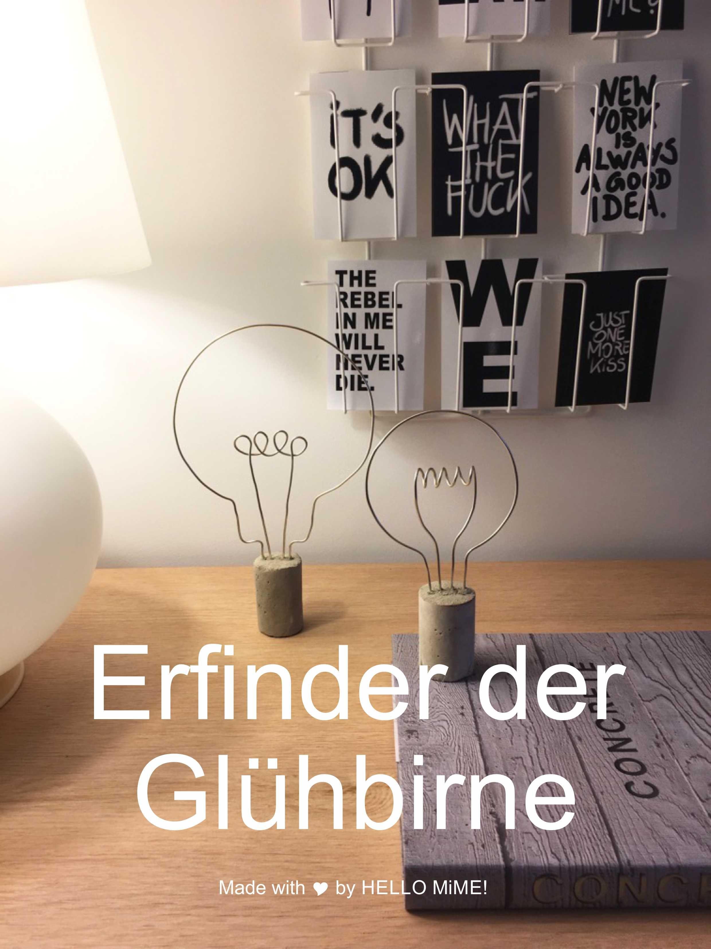Glühbirne-Dekoration-Basteln-Draht.jpg (2480×3307) | DIY | Pinterest ...